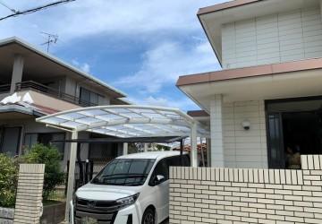 大阪府泉南郡 F様邸【カーポート撤去と新設】