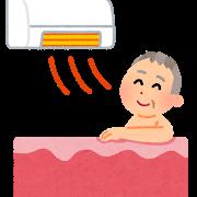 入浴前に暖房
